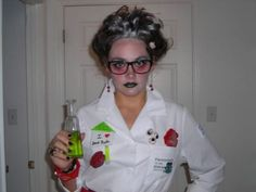 Female Mad Scientist Costume submited