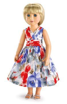 Carpatina Isabella doll dress