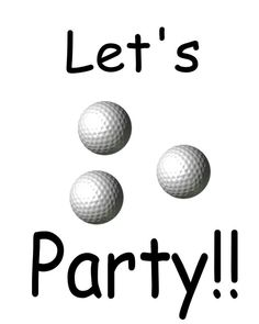 Printable Sports Party Invitations - Free Invitations to Print: Printable Golf Party Invitations