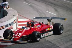1982 GP USA (Long Beach) Ferrari 126 C2 (Gilles Villeneuve)