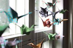 Melkein kuin uusi: DIY: Origamilintuja