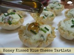 Honey Kissed Blue Cheese Tartlets Title Logo.jpg
