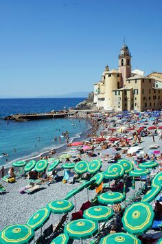 A pit stop in Camogli, Italy—between the Cinque Terre and Genoa
