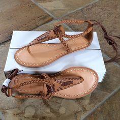 b6771ca5f41 🍃💕NIB Dolce Vita Keoni Leather Sandal Beautifully quality constructed  boho gladiator two tone leather