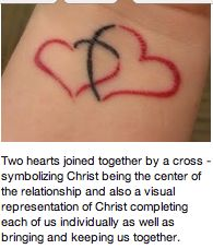 instead of the red, do a white tattoo... I would love this.