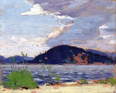 Spring, Canoe Lake, Tom Thomson, Canadian Group of Seven Emily Carr, Group Of Seven Art, Group Of Seven Paintings, Canadian Painters, Canadian Artists, Abstract Landscape, Landscape Paintings, Impressionist Paintings, Abstract Paintings