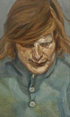 lucian freud(1922–2011), small head, 1973–74  1981. oil on canvas, 26.3 x 15.7 cm. arts council collection, london, uk http://www.bbc.co.uk/arts/yourpaintings/paintings/small-head-63423