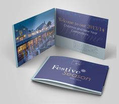 Andrew, Lindsey and their team have strived for ten years to create this amazing seaside hotel with its spectacular views and laid back atmosphere. Popcorn were tasked with designing St Brides' festive brochure for 2013, the brief was to look festive while still looking high end and complimenting the existing brand.