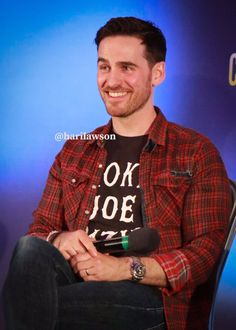 """""""Enchanted 2 Q&A panel with Captain Swan, Captain Hook, Killian Jones, Colin O'donoghue, Ouat, Once Upon A Time, Hot Guys, Tv Shows, In This Moment"""