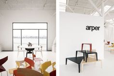 Arper opens a new showroom in Denmark located at Pakhus 48, a warehouse which is part of a new design zone in an extensive urban development project of the Copenhagen free port area. Born in 2008 as a permanent supplement to the city's design fairs and exhibitions, Pakhus 48 frame seven permanent showrooms in an area of 3,000 square metres and is fringed with a wide terrace from where the view of the harbour and the city can be enjoyed. images carefully #retouch by #creamwork