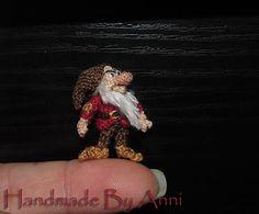 Miniature Grumpy dwarf dollhouse miniature dollhouse doll Disney miniature Disney collectible SnowWhite and the seven dwarfs