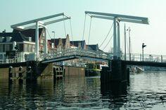 Drawbridge in Haarlem