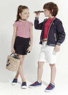 Moda Online, Girl Fashion, Navy Style, Google, Kids Fashion, Fashion Branding, Fashion For Girls, Feminine Fashion, Sailor Fashion