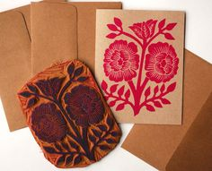 I love the diverse range of design styles amongst exhibitors at the National Stationery Show – and these two sneak peeks couldn't be better examples! Katharine Watson creates beautiful stationery and textiles from hand-carved blocks (you might remember her guest post on block printing). Her latest collection, debuting at the show this weekend in booth …