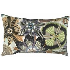 Missoni Cushion Passiflora Green Mixed Colors 50x30. Buy online.