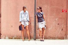 Elle Ferguson and Tash Sefton of @TheyAllHateUs I @Vogue Australia Spy Style. Makeup by @Tobi McDaniel Henney using #ModelCo