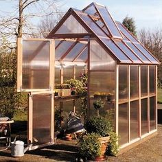 Little Cottage Company Colonial Gable 8 Ft. W x 12 Ft. D Hobby Greenhouse Lean To Greenhouse, Cheap Greenhouse, Greenhouse Effect, Backyard Greenhouse, Greenhouse Ideas, Portable Greenhouse, Homemade Greenhouse, Greenhouse Wedding, Pallet Greenhouse