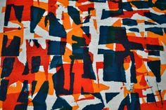 hand stamped silk / Javiera Edwards javieraedwards@yahoo.es