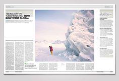 Magazine Design, Newspaper Design, Newspaper Layout, Magazine Layout, Editorial Design, Special Interest Report Design