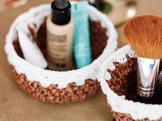 Tutorial fai da te: Come fare un cestino con spago all'uncinetto via DaWanda.com