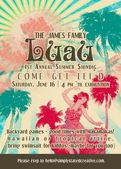 summer party invitation wording