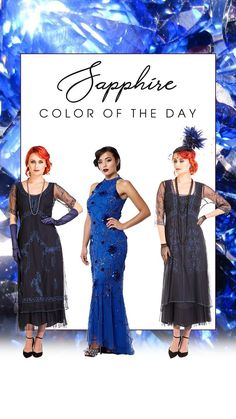 It is as the 1920's never left! Gracing any occasion close to one's heart in the Mary Vintage Style Party Dress in Sapphire by Nataya is sure to lead to a wonderful time. In combination with an equally elegant pair of Victorian vintage shoes, the essence of Downton Abbey is near.