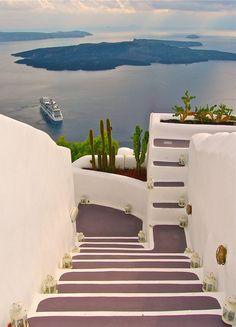 Caldera view, Santorini... #Greece