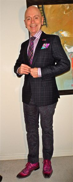Zanetti blazer, Tommy Hilfiger shirt, Impuntura tie, Dockers paisley cords, GioRgio 1958 wing-tip ankle boots… #Zanetti #TommyHilfiger #Impuntura #Dockers #GioRgio1958 #mensfashion #fashion #dandy #dapper #sartorial #sprezzatura #menshoes #mensweardaily #menstyle #bespoke