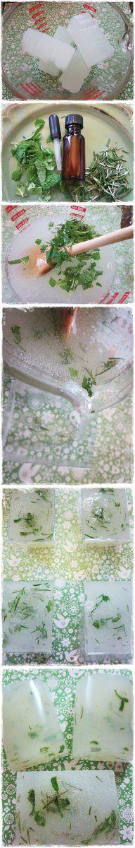 Soap Recipe - Rosemary and Mint