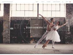 Milwaukee Ballet / webデザイナーのためのギャラリー・サイトリンク集 / 1GUU