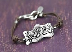 beautiful jewelry inspiration | Beautiful Jewelry / Music Bracelet Inspirational Jewelry by ...