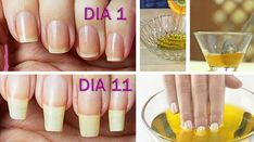 Grow Nails Faster, How To Grow Nails, Grow Long Nails, Beauty Make Up, Beauty Care, Beauty Hacks, Nail Soak, Nail Growth, Strong Nails