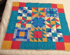 New Handmade Quilt Southwestern Colors-signed