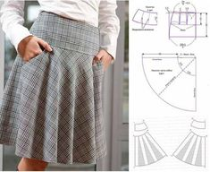 Amazing Sewing Patterns Clone Your Clothes Ideas. Enchanting Sewing Patterns Clone Your Clothes Ideas. Diy Clothes Patterns, Skirt Patterns Sewing, Clothing Ideas, Fashion Sewing, Diy Fashion, Fashion Outfits, Sewing Pants, Sewing Clothes, Skirt Sewing