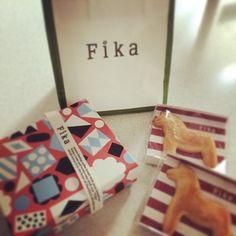 Fika 北欧のFikaのボックス。