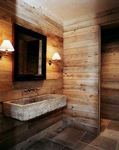 Look+We're+Loving:+Masculine+Bathrooms+via+@mydomaine