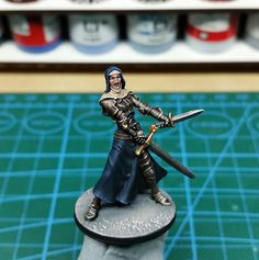 Zombicide trading/painting Ann the nun