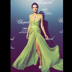 Alessandra Ambrosio in Elie Saab | Cannes Film Festival 2014