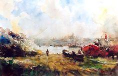 ORHAN GÜREL- Suluboya Ressamı