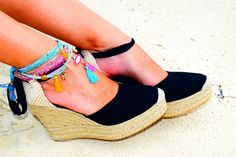 ALEXA Platform Lace Up Women Espadrilles Organic Cotton by IBIZENCASshoes on Etsy https://www.etsy.com/listing/474599684/alexa-platform-lace-up-women-espadrilles