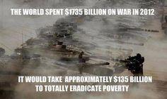 #change #war #poverty