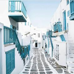 Mykonos, Kikladhes - Greece - Tap on the link to see the newly released collections for amazing beach bikinis! Mykonos Island, Mykonos Greece, Oh The Places You'll Go, Places To Travel, Places To Visit, Travel Around The World, Around The Worlds, Greece Honeymoon, Photos Voyages