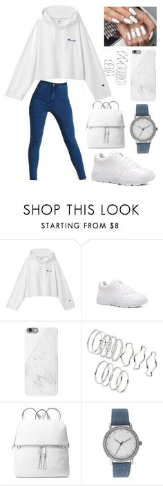 """Untitled #33"" by maggie-lindemann130302 ❤ liked on Polyvore featuring Native Union, Michael Kors and A Classic Time Watch Co."