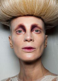 Alexander Mcqueen Runway Makeup