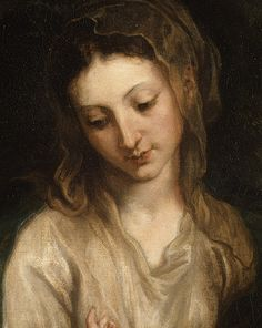 Anthony van Dyck: Detail of Virgin and Child with Saint Catherine of Alexandria (60.71.5) | Heilbrunn Timeline of Art History | The Metropolitan Museum of Art
