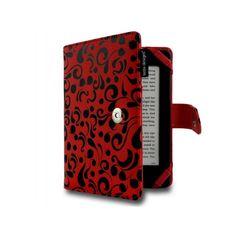 """Ručne vyrábané puzdro prvotriednej kvality a nevšedného vzhľadu. Pasuje na 6 """"ebook čítačky, ako napr. Kindle, PocketBook, apod."""