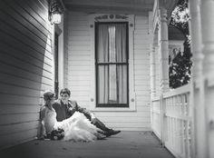 Grace <3 Andrew  |  Barr Mansion and Artisan Ballroom  |   www.barrmansion.com  |   Austin TX  |  Geoff Duncan Photography  |   www.geodun.com  |  wedding texas victorian porch southern vintage modern