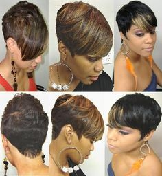Pretty color and cut. I wish I was brave enough to rock it though. :/