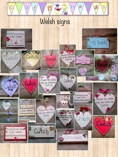 Welsh signs and plaques