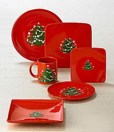Waechtersbach  Christmas Tree  Dinnerware : waechtersbach christmas tree dinnerware - pezcame.com